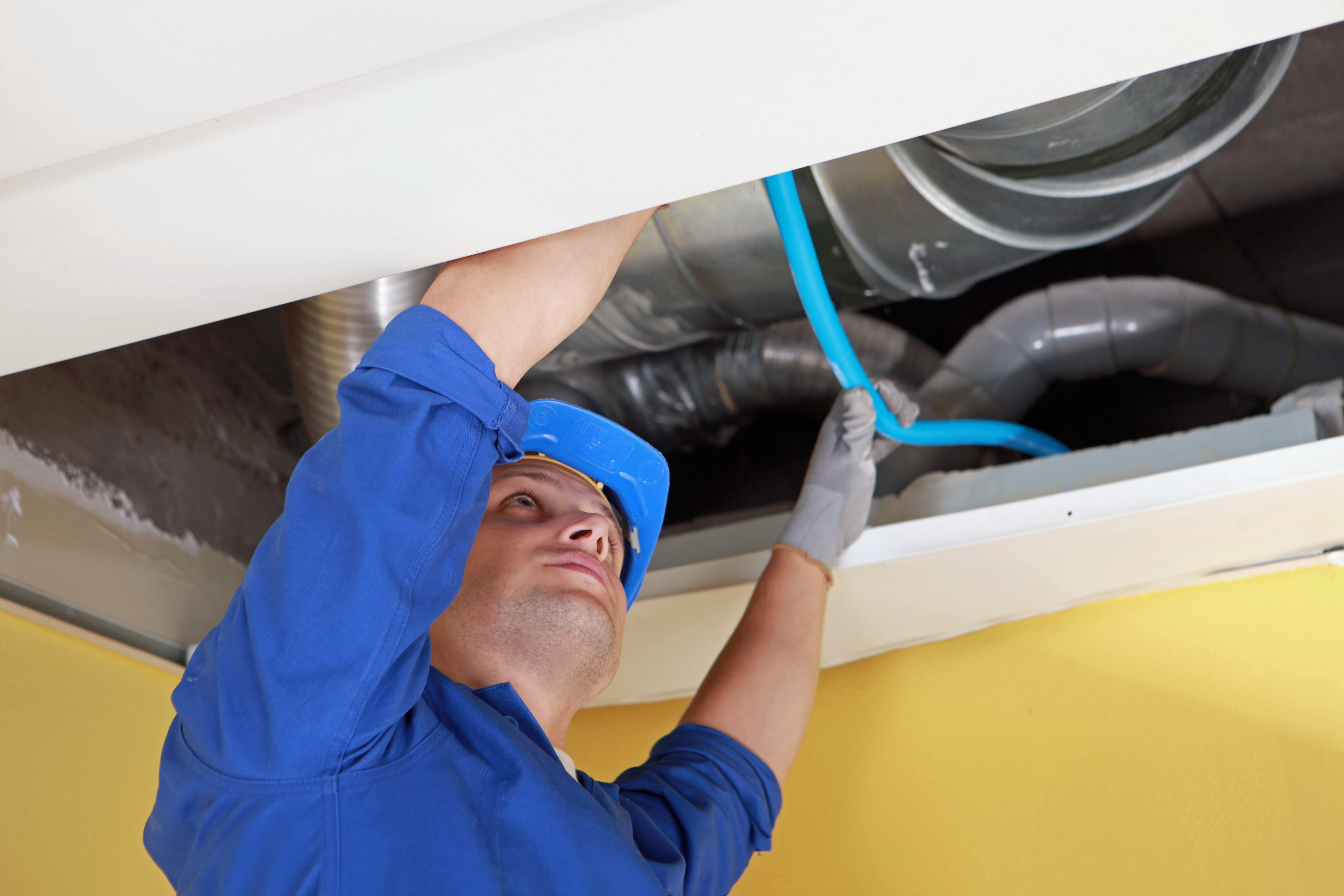Dirty air ducts can affect your health.